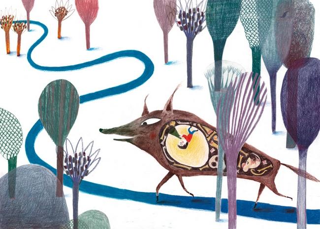 Clases de ilustración infantil Paloma Corral