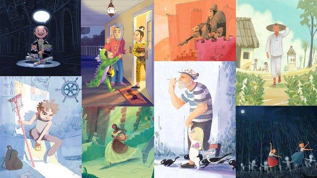 Ilustración digital para cuentos infantiles. Teresa Martínez