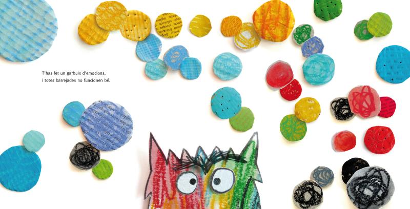 el montruo de colores de Ana Llenas