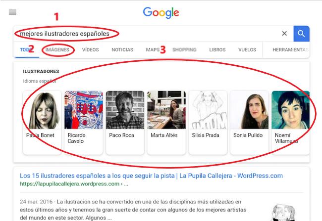 tablet mejores ilustradores españoles (parte de arriba)