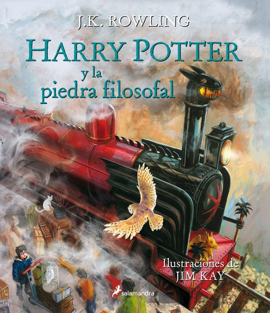 Libros ilustrados Harry Potter