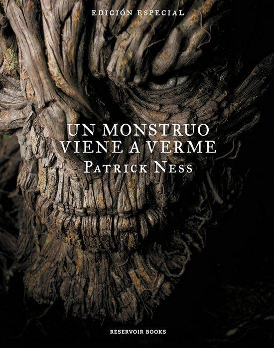Un monstruo viene a verme. Patrick Ness Jim Kay. Reservoir Books